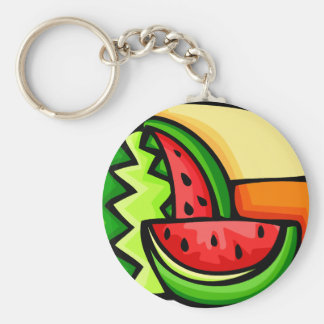 Watermelon Day August 3 Key Ring
