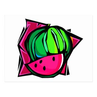 Watermelon Dream Postcard