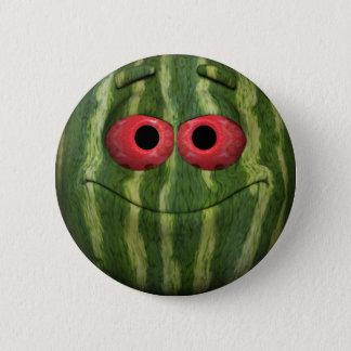 Watermelon Emoticon 6 Cm Round Badge