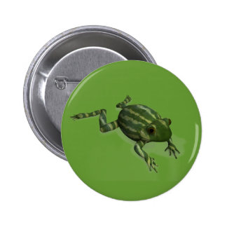 Watermelon Frog Pinback Buttons