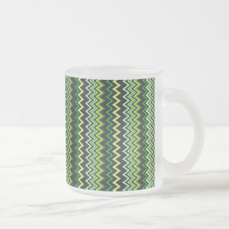watermelon frosted glass coffee mug