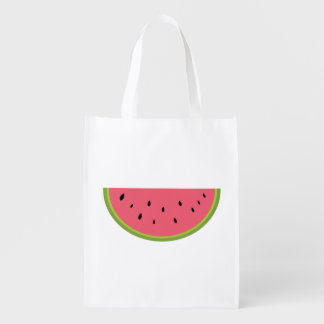 Watermelon Fruit Sweet Health Red Half Market Tote