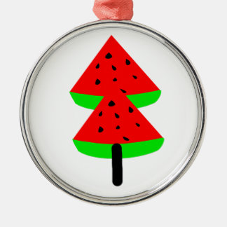 watermelon fruit tree christmas ornament