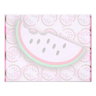 Watermelon Fun! 11 Cm X 14 Cm Invitation Card
