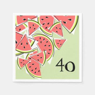 Watermelon Green Age 40 napkins paper Paper Napkin