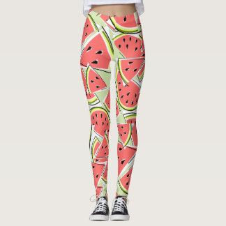 Watermelon Green leggings