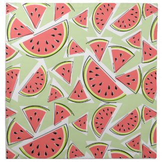 Watermelon Green Multi napkins cloth