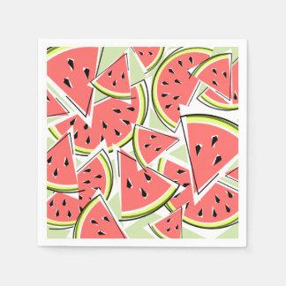 Watermelon Green napkins paper Paper Napkins