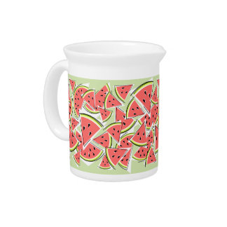 Watermelon Green pitcher