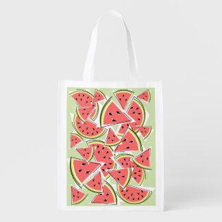 Watermelon Green reusable bag