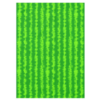Watermelon Green Rind Summer Fruit Pattern Tablecloth