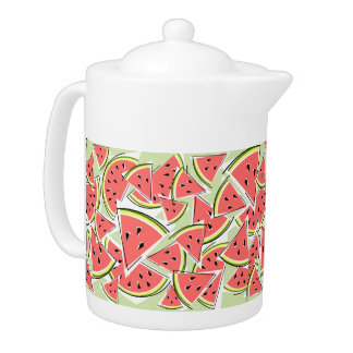 Watermelon Green teapot