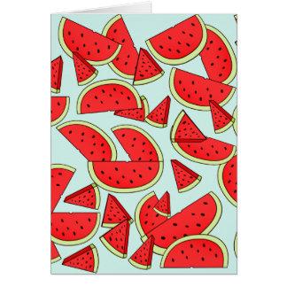 Watermelon  greeting cards Birthdays or holidays