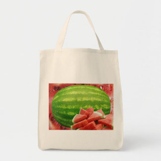 Watermelon Grocery Tote Bag