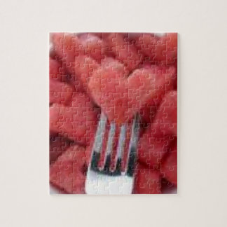 Watermelon Heart Puzzle With Gift Box
