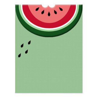 watermelon invite postcard