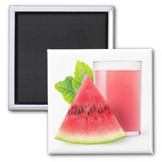 Watermelon juice magnet