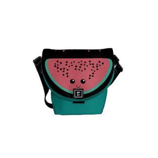 Watermelon kawaii messenger bag
