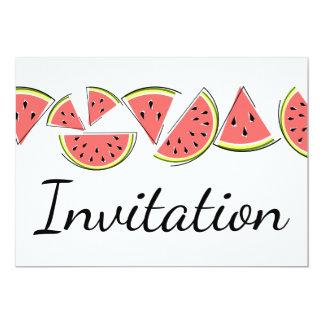 Watermelon Line invitation