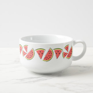 Watermelon Line soup mug