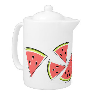 Watermelon Line teapot