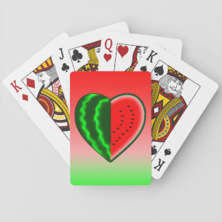 Watermelon Love Playing Cards
