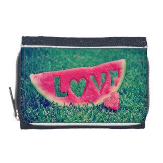 watermelon love wallet