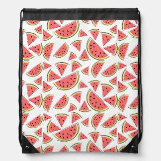 Watermelon Multi drawstring backpack
