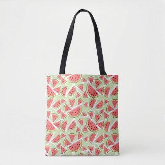 Watermelon Multi Green tote bag
