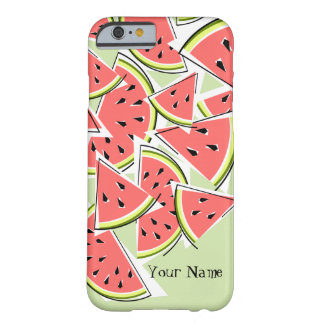 Watermelon 'Name' green iPhone 6 case