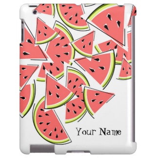 Watermelon 'Name' iPad case