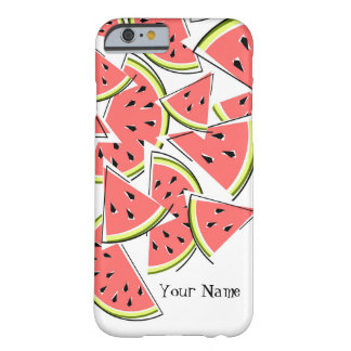 Watermelon 'Name' iPhone 6 case