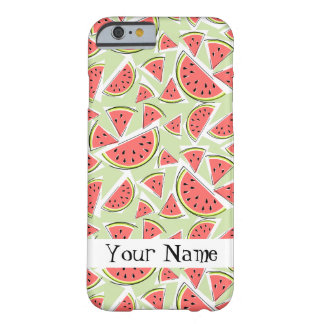 Watermelon 'Name' Multi green iPhone 6 case