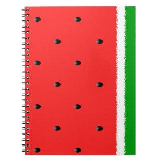 Watermelon notebook. notebooks