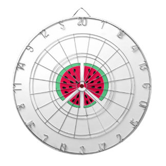 Watermelon of Peace Dartboard With Darts