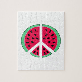 Watermelon of Peace Jigsaw Puzzle