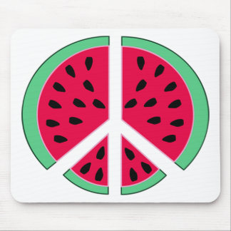 Watermelon of Peace Mouse Mat