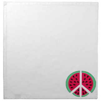 Watermelon of Peace Napkin