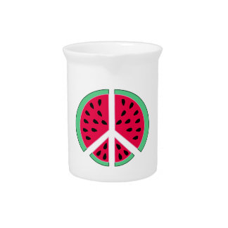 Watermelon of Peace Pitcher