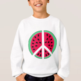 Watermelon of Peace Sweatshirt