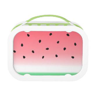 Watermelon Ombre Stripes Lunch Box
