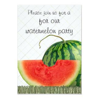 watermelon party invites