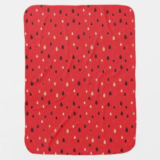 Watermelon Pattern Buggy Blankets