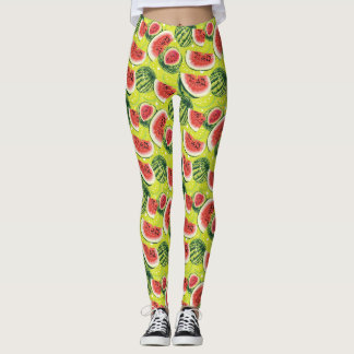 Watermelon Pattern Leggings