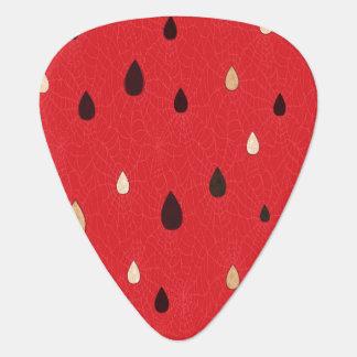 Watermelon Pattern Plectrum