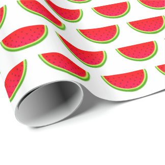 Watermelon Pattern Wrapping Paper