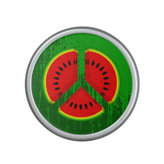 Watermelon Peace Vibrant Colours Bluetooth Speaker