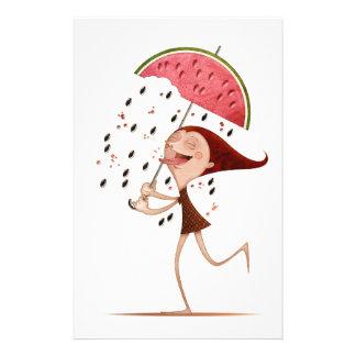 Watermelon Personalized Stationery