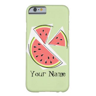 Watermelon Pieces green 'Name' iPhone 6 case