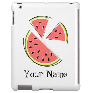 Watermelon Pieces 'Name' iPad case